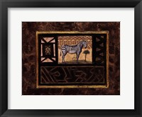 African Excursion ll Framed Print
