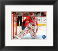Framed Jose Theodore 2008-09 Action
