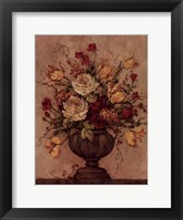 Floral Reflections II Framed Print