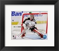 Framed Niklas Backstrom 2008-09 Action