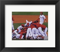 Framed 2008 Philadelphia Phillies World Series Champions Team Celebration Horizontal