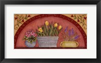 Framed Tulips In Arch
