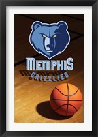 Framed Grizzlies - Logo 08