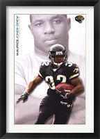 Framed Jaguars - Maurice Jones-Drew