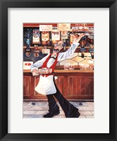 Whiskey Galore Framed Print