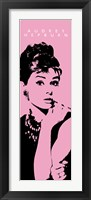 Framed Audrey Hepburn - Cigarello