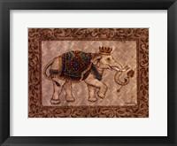 Framed Royal Elephant I