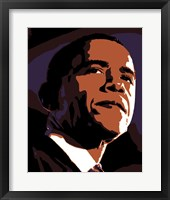 Framed Decobama Obama