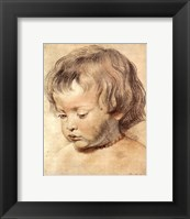 Framed Head of a Boy