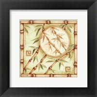 Bamboo Breeze II Framed Print