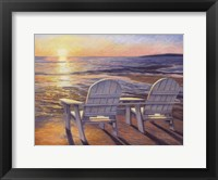 Framed Relaxing Sunset