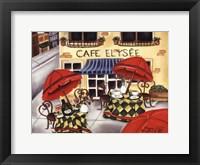 Framed Cafe Elysee