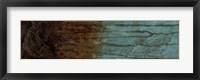 Oxidized Copper IV Framed Print