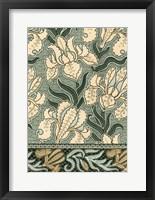 Framed Garden Tapestry II