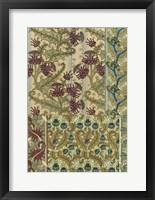 Framed Garden Tapestry IV