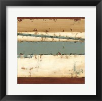 Linear Abstraction III Framed Print