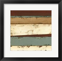 Linear Abstraction IV Framed Print