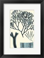 Framed Azure Seaweed IV