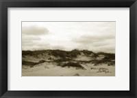 Framed Ocracoke Dune Study III