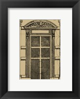 Framed Palladian Door
