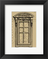 Framed Palladian Window