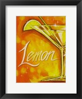 Lemon Framed Print