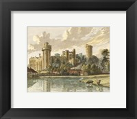 Framed Warwick Castle