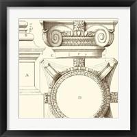 Corinthian Detail IV Framed Print
