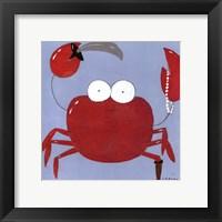 Barnacle Pete Framed Print