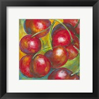 Abstract Fruits III Framed Print