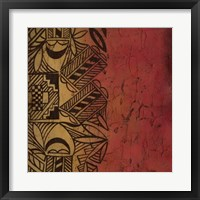 Native Tradition II Framed Print