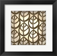 Classical Leaves III Framed Print