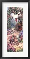 Garden Harmony Framed Print