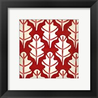 Classical Leaves IV Framed Print