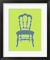 Graphic Chair III Framed Print
