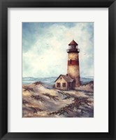 Quiet Harbor Framed Print