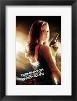 Framed Terminator: The Sarah Connor Chronicles - style BE