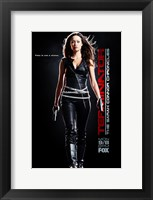 Framed Terminator: The Sarah Connor Chronicles - style BG