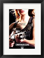 Framed Terminator: The Sarah Connor Chronicles - style BN