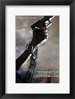 Framed Terminator: The Sarah Connor Chronicles - style BK