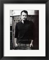 Framed Heath Ledger