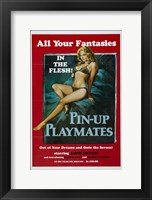 Framed Pin-up Playmates, c.1972