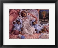 Sleepy-Time Bears Framed Print