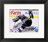 Framed Jason LaBarbera 2008-09 Home Action