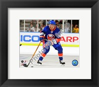 Framed Chris Campoli 2008-09 3rd Jersey