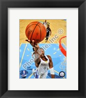Framed Nene Hilario 2008-09 Action