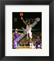 Framed Greg Oden 2008-09 Action