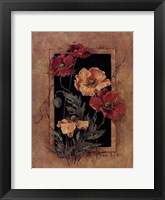 Framed Poppies Framed Print
