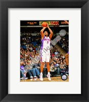 Framed Boris Diaw 2008-09 Action