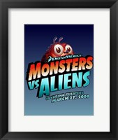 Framed Monsters vs. Aliens, c.2009 - style B